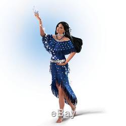 Midnight Star Gazer Native Lady Doll Ashton Drake