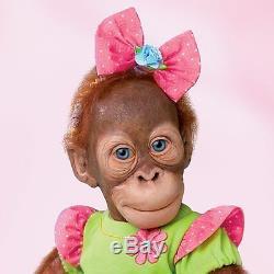 Mollie Ashton Drake Orangutan Doll By Simon Laurens 20 inches