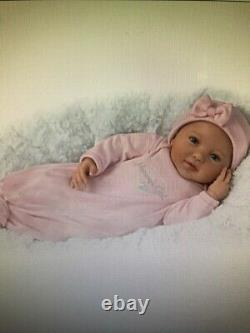Mommy's Girl Baby Doll With Magnetic Pacifier by Ashton Drake