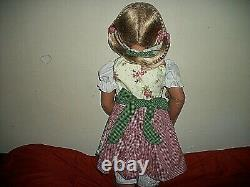 NEW 31 Monika Peter-Leicht Louisa Child Doll in Bavarian Costume withBox/COA