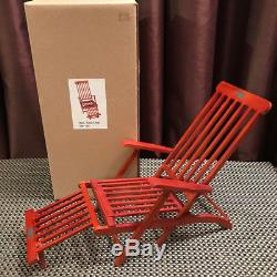 NEW DECK CHAIR The Queen Mary For 16 Dolls Gene Sybarite Tonner Rose Titanic