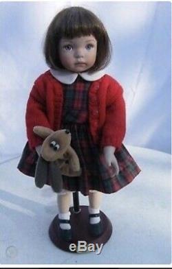 NIB ASHTON-DRAKE GALLERIES Dianna Effner 14 SCHOOL GIRL JENNY Porcelain Doll
