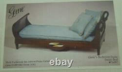 NRFB Gene Gene's Bedroom Suite Swan Bed Ashton- Drake Galleries with COA