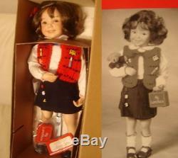 New Dianna Effner Doll LeAnne in School Girl Outfit Ashton Drake Porcelain