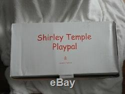 New Patti PlayPal Shirley Temple Doll 33 Inch Repro NRFB by Danbury Mint