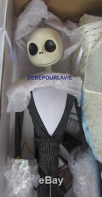 Nightmare Before Christmas Jack And Sally's Nightmare Romance Doll Set Disney