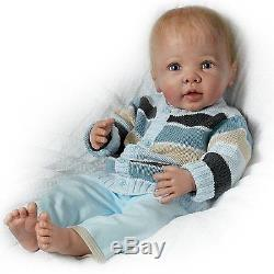 Noah Happy As Can Be Interactive 22'' Doll by Ashton Drake New NRFB