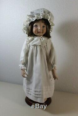 One Ashton Drake Dianna Effner artist bedtime Jenny doll 15 tall No. 5546FA