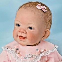 PRICE LOWERED Ashton Drake Pretty In Pink Realistic Baby Doll reborn similar