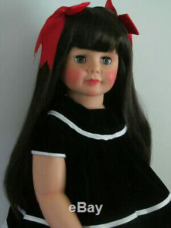 Patti Playpal Repro By Ashton Drake 35 Inch Doll Brunette Beauty For Xmas