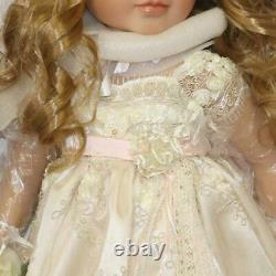 Pearls, Lace, And Grace, a Lifelike Child Doll Ashton-Drake Galleries