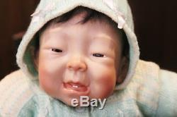 Ping Lau Unreleased Prototype Fred OOAK Silicone Vinyl Asian Baby Boy Doll