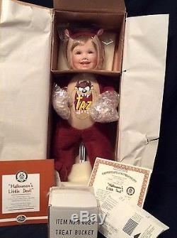 Porcelain Doll Ashton-Drake Halloween's Little Devil Taz