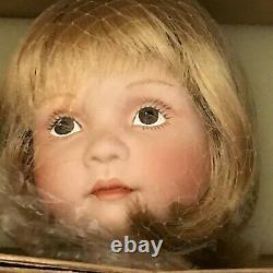 Porcelain Doll Cherry By Sue Shuppy, Ashton Drake Galleries