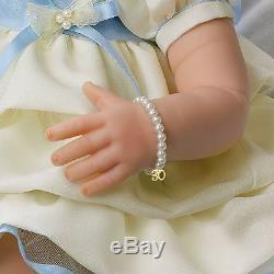 Precious in Pearls 21'' Ashton Drake 30th Anniversary Baby Doll New NRFB