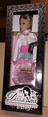 Pretty in Pink Delilah Noir Dolls, Ashton Drake, NRFB
