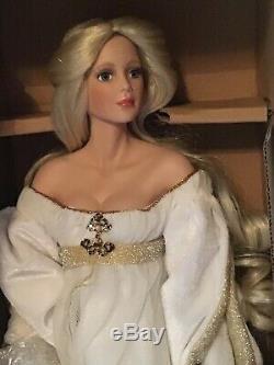Princess And The Pea Bride Porcelain Doll By Cindy McClure Ashton-Drake