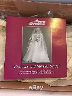 Princess and the Pea Bride by Cindy McClure Ashton Drake Porcelain NIB Wedding