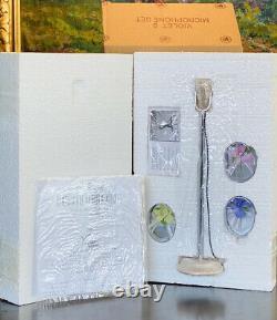 RARE Ashton Drake Mel Odom Violets Microphone Gene Marshall NRFB Shipper Box
