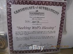RARESeeking wolf's BlessingAll Porc. Doll-Ralph Bienert-Ashton-Drake-NRFB-N/A