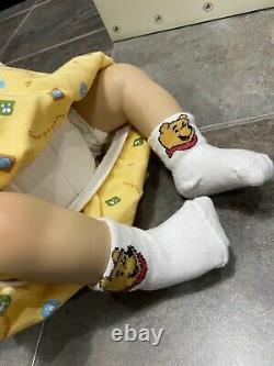 Rare The Ashton Drake Galleries Doll Winnie the poo Baby Christy Waltraud Hanl