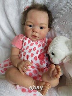 Reborn Baby GIRL Doll ASHTON DRAKE- Head Reva SCHICK FULL LEGS