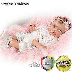 Reborn Lifelike Realistic Baby Girl Doll Newborn Beautiful So Real Toddler Medic