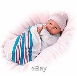 Reborn Realistic Baby Girl Doll Vinyl Newborn Full Handmade Collectors Gift