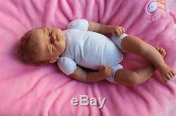 Reborn baby doll Linda Murray Cradle baby Ashton Drake beautiful