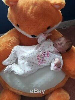 Reborn doll breathing Ashley by Ashton drake slightly repainted reserved