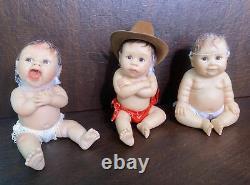 SHERRY RAWN ASHTON DRAKE 5 BABY DOLLS LOT OF 9 /Sold As-Is