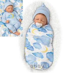 SO TRULY REAL ASHTON DRAKE ETHAN sleeping Boy BABY DOLL MARISSA MAY 19 doll