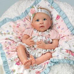 So Truly Real Ashton Drake Gabby Rose Baby Doll Limited Edition Linda Murray