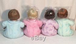 Set/4 ASHTON DRAKE DOLLS Piglet Eeyore Tigger Pooh Collectible Porcelain COA