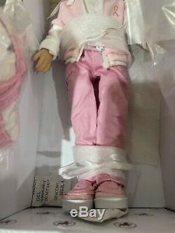 Sisters Walk for the Cure Dianna Effner Ashton Drake 12 Vinyl Doll Blonde Pink