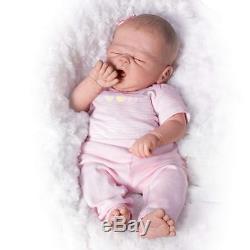 So Sleepy Sophie 16'' Lifelike Baby Doll by Ashton Drake, New