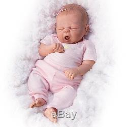 So Sleepy Sophie, So Truly Real Baby Girl Doll by Ashton Drake New NRFB