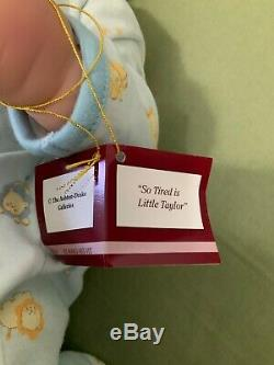 So Tired is Little Taylor Vinyl Baby Ashton-Drake by Tinneke NEW Box
