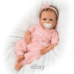 So Truly Ashton Drake Silicone 18 Cooing Chloe Breathing Baby Doll Linda Murray