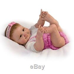So Truly Real 10 Little Fingers, 10 Little Toes Poseable Baby Doll Ashton Drake