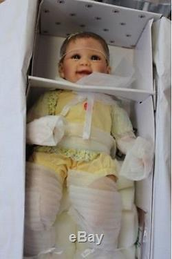 So Truly Real ASHTON DRAKE TUMMY TICKLES Touch Activated Lifelike Baby Doll NEW