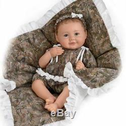 So Truly Real Ashton Drake Camo Cutie Posable Baby Doll By Ping Lau