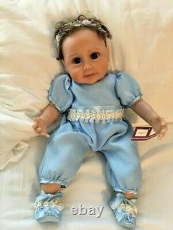 So Truly Real Ashton-Drake Sherry Miller Baby Blue Eyes Lifelike Baby Doll COA