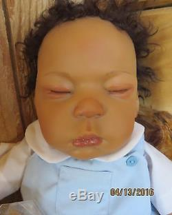 So Truly Real Baby Doll by Ashton Drake New God is Gracious Deshawn