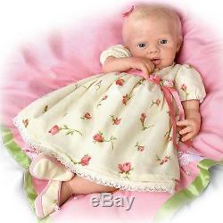 So Truly Soft Silique Lily Rose Realistic 21'' Lifelike Ashton Drake Doll