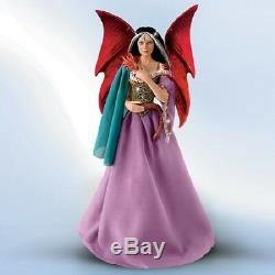 Soul Mates Fairy Dragon Porcelain Doll Anne Stokes Ashton Drake