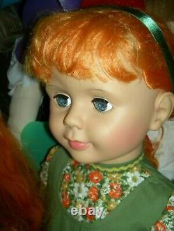Special, 36 inch, Carrot Top, Patti PlayPal doll tagged Ashton Drake with COA
