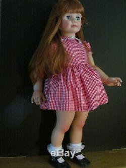 Super Ashton Drake Patti Playpal Gorgeous Doll With New Red Wig
