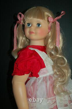 Super Ashton Drake Patti Playpal - Restored 34 Inch Doll Awesome