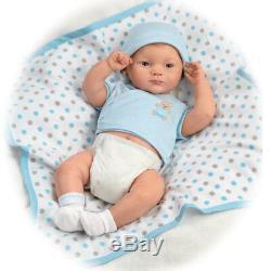 Sweet Baby Boy Lifelike 16'' Baby Boy Doll Anatomically Correct Ashton Drake